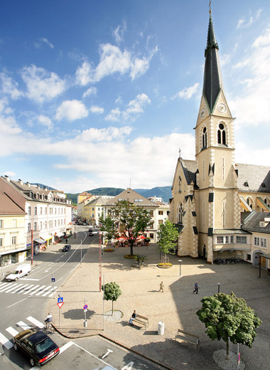 Wirtschafts-, Verkehrsknotenpunkt und Tor zum Süden, Gemeinde Villach